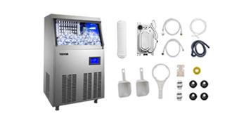 machine à glace pour comptoir de bar
