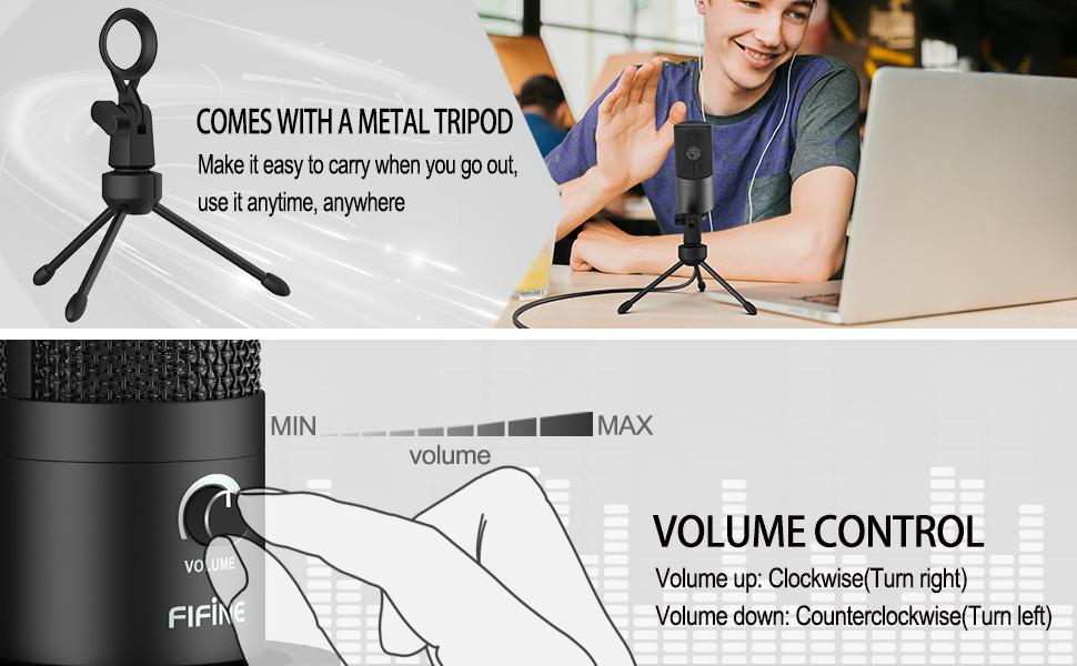 Studio Condenser USB Microphone