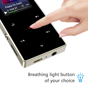 "Touch button with 1.8"" TFT screen"