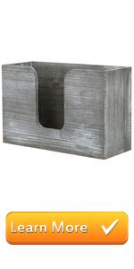 vintage gray wall mounted bathroom paper towel dispenser multi-fold tray holder bath folded napkin