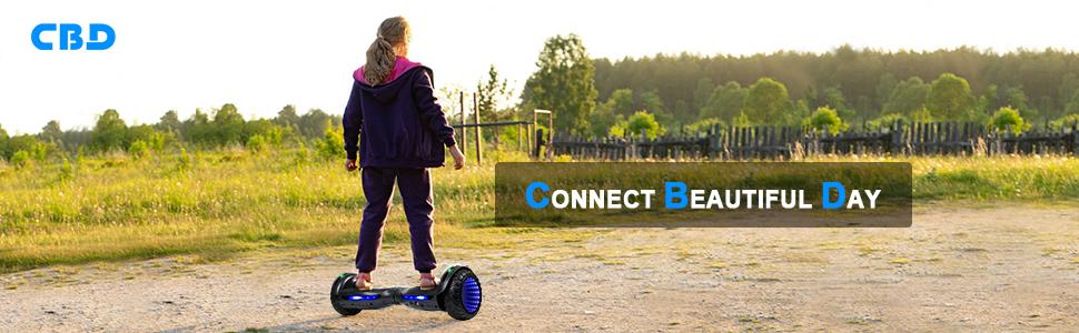CBD All-terrain Flash Hoverboard brand