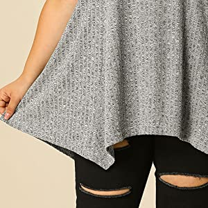 plus size top for women