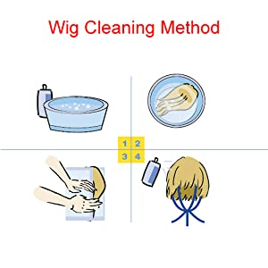 Wig Cleaning Method