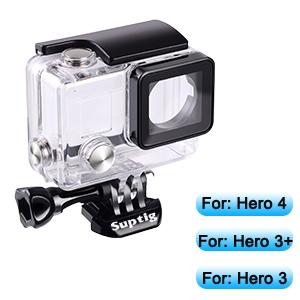 Suptig Wasserdichte Schutzhülle Für Gopro Hero 4 3 Kamera