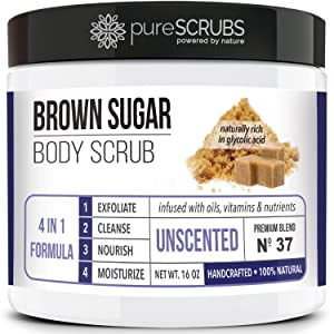 Brown Sugar Face and Body Scrub Unscented