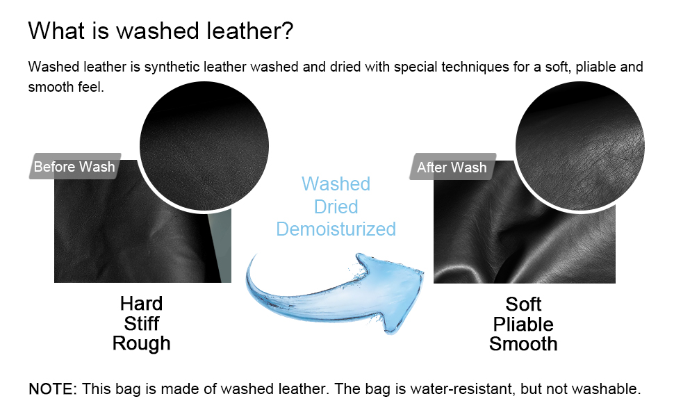 Vegan Leather Satchel Handbag