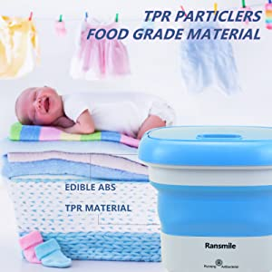 TPR PARTICLES FOOD GRADE MATERIAL