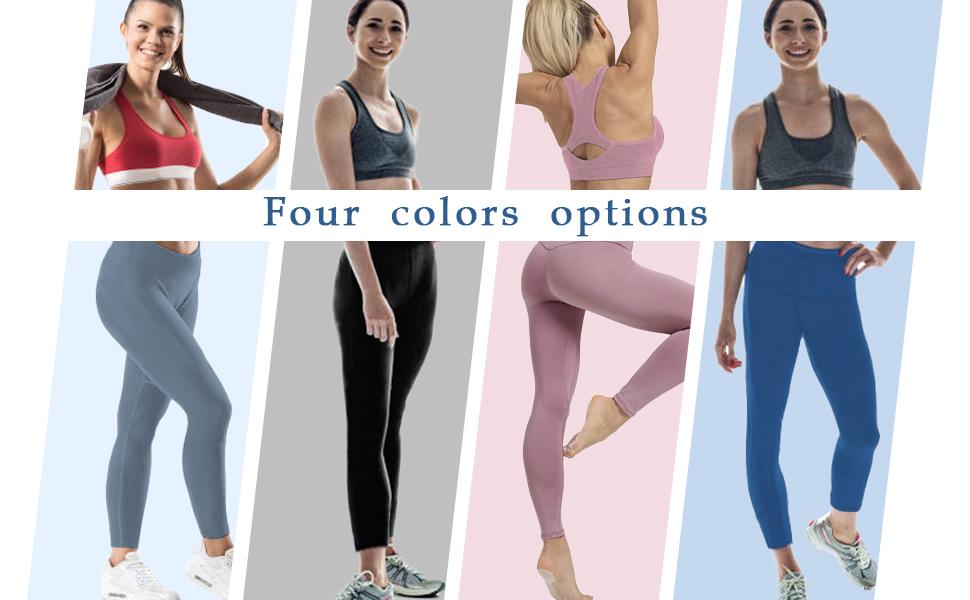 Four color yoga pants
