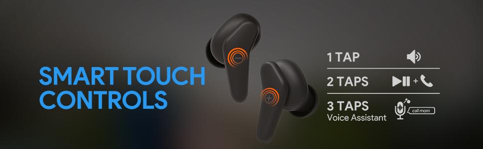 touch earphones
