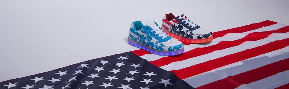 LED light up shoes United States of America
