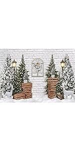 Funnytree Schnee Wunderland Kiefer Hintergrund Kamera