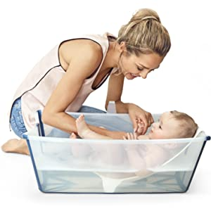 Ersatz-Badewannenst/öpsel f/ür die Flexi Bath Badewanne Schwarz Stokke Flexi Bath Abfluss St/öpsel Farbe