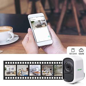 video recorded camera
