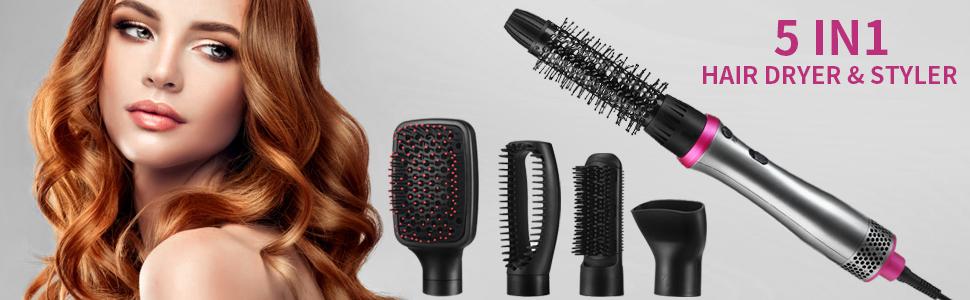 Hair Dryer Brush .ASOGO 5 In 1