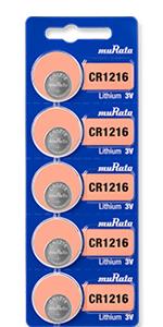 Murata lithium battery, size 11216