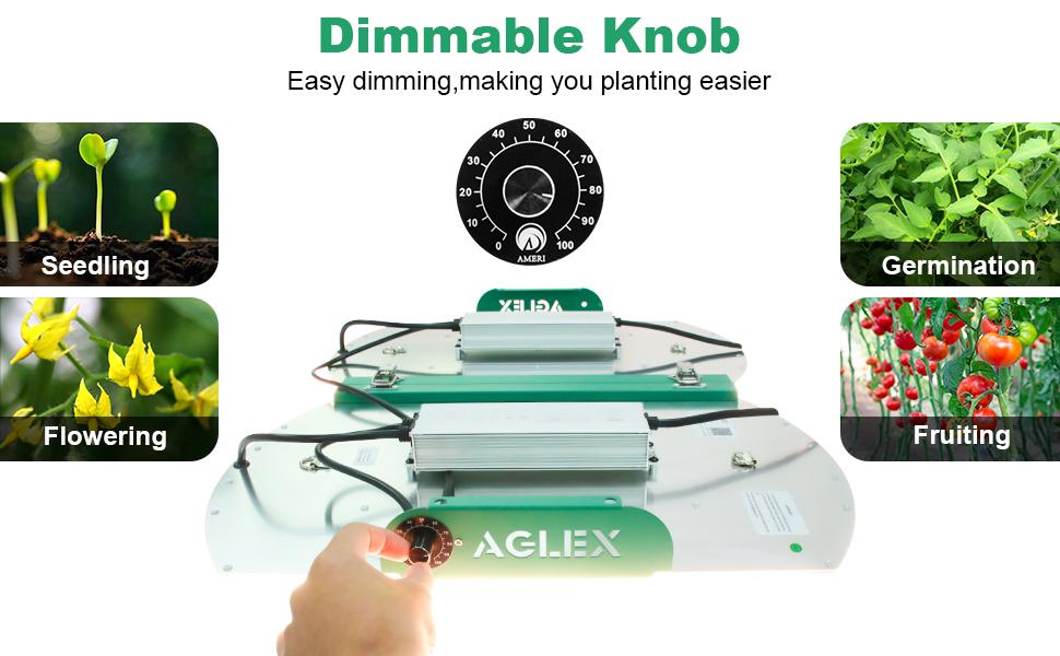 AGLEX dimmable grow light 4000