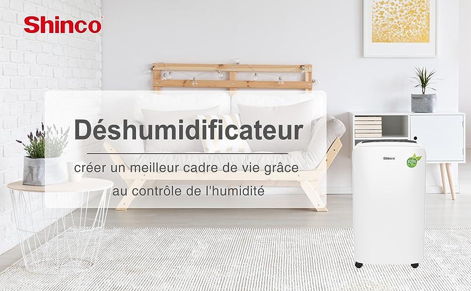 Shinco Déshumidificateur 002