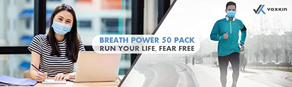 Voxkin BreathPower 50 Pack Run you life fear free
