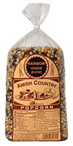 Rainbow Popcorn Kernels Amish Country Old Fashioned Microwave Stovetop