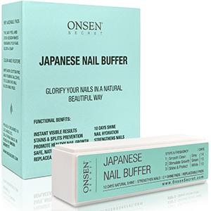 convenient, compact, nail buffer block, natural shine, repair damaged nails