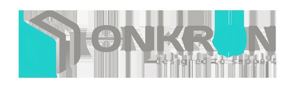 onkron brand logo header