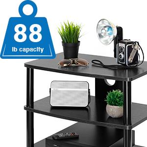 Weight Capacity 88lbs