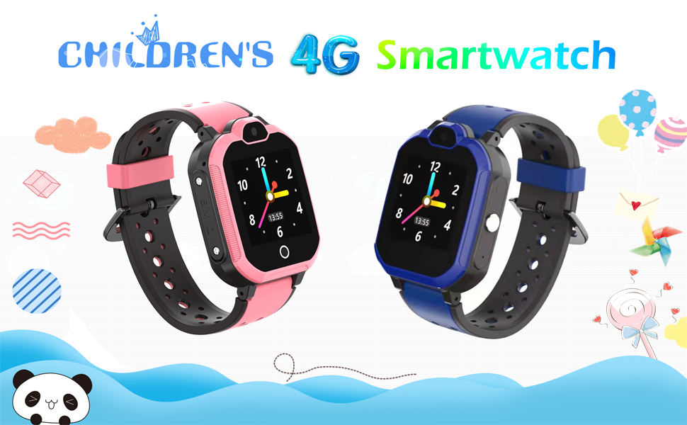 kids 4g smart watches girls boys smartwatch with gps tracker boys sports digital waterproof Clock