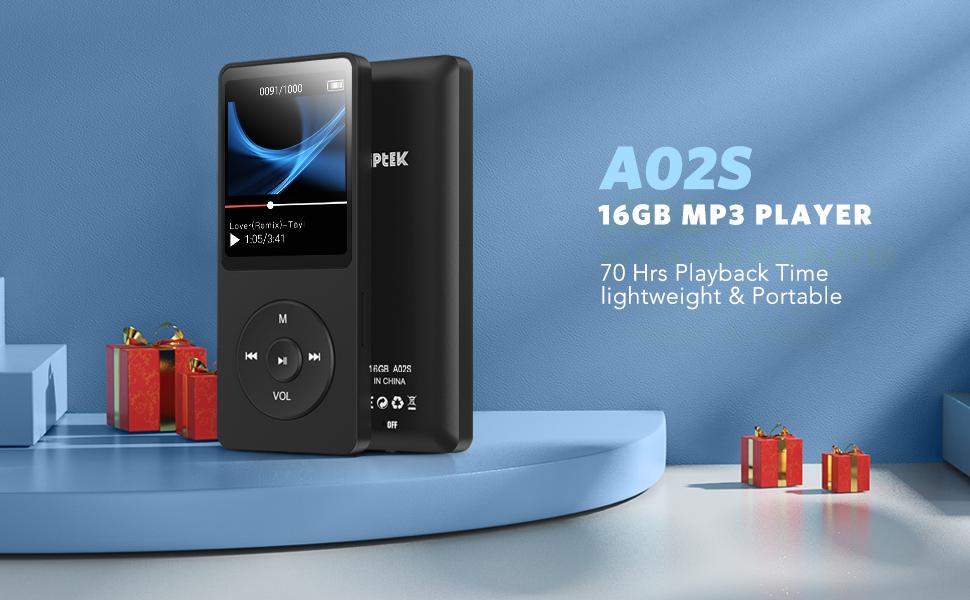 16GB MP3 PLAYER