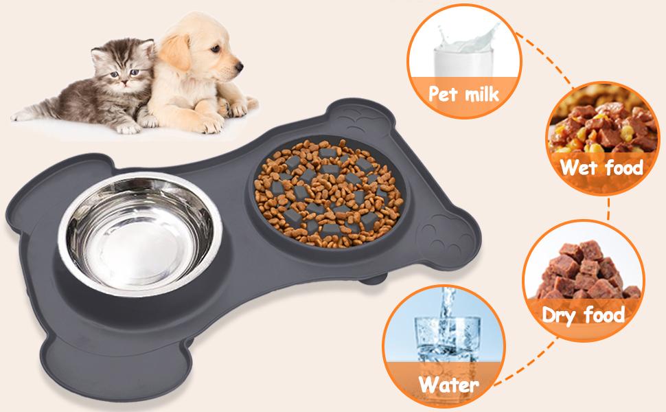 dog bowl mat
