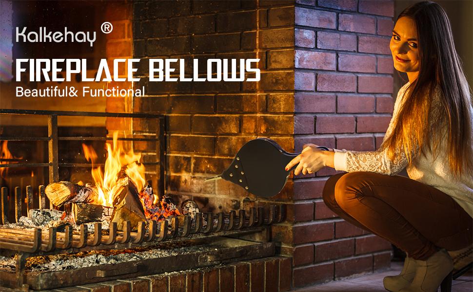 Fireplace bellow