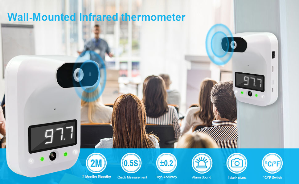 wall infrared thermometer