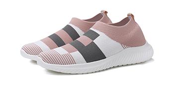 red sneakers for women Sock Shoes Colorblock lightweight sneakers women walking shoe slip on sneaker