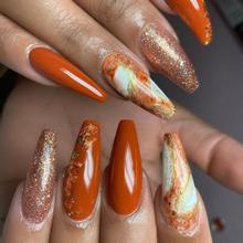fall autumn gel nail polish