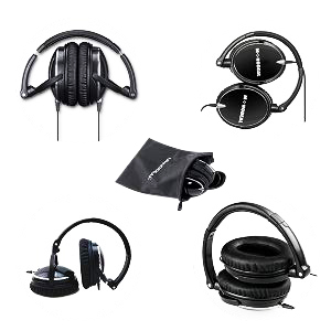fordable headphones