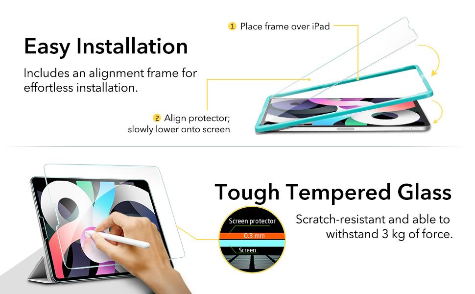 ipad air 4 screen protector