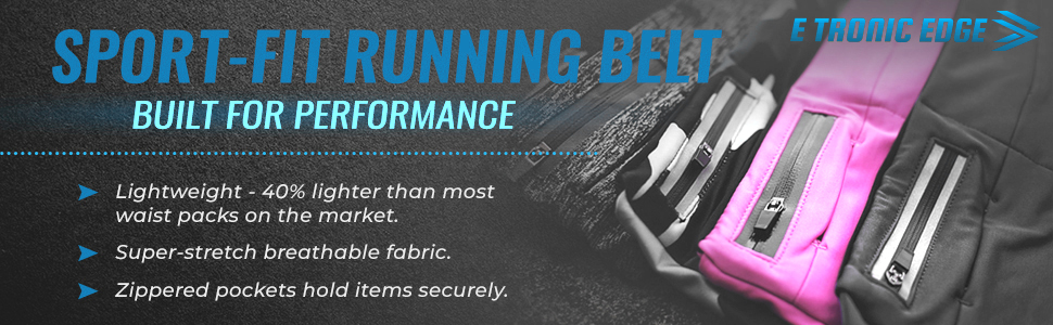 Etronic Running Belt performance