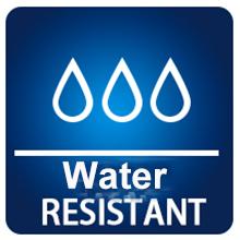 Resistente al agua mientras que transpirable