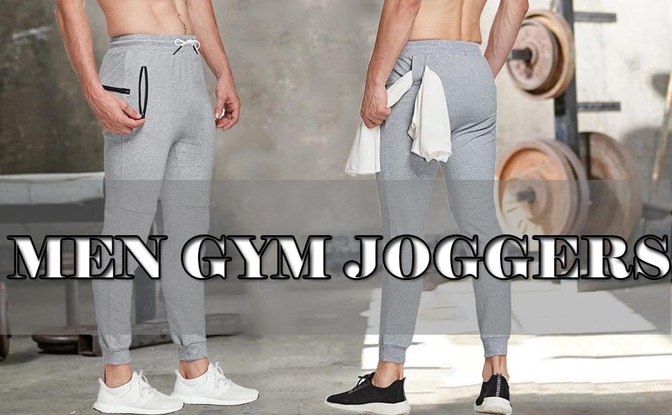 men gym joggers
