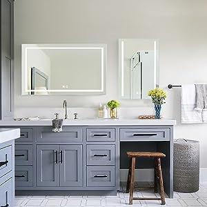 led mirrors for bathroom