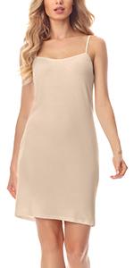 Merry Style Damen Unterkleid Unterrock verstellbare Tr/äger MS10-315