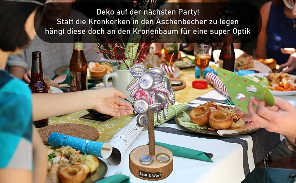 Kronenbaum Party Bier Trinken Party Feiern