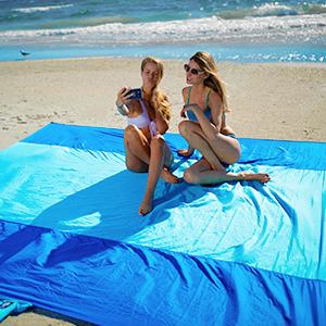 wekapo beach sand blanket