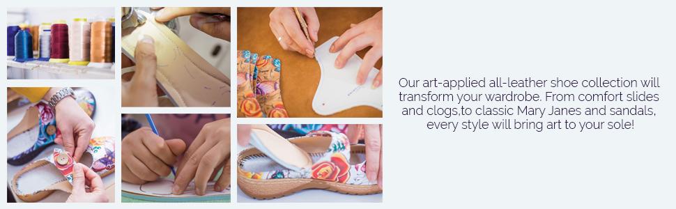 Anuschka Hand Painted Shoes