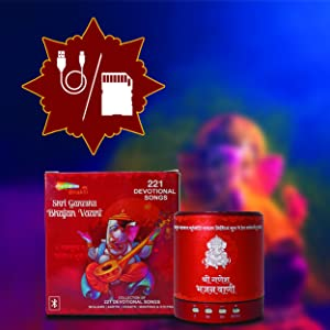bluetooth, micro sd card, tf card, USB, bluetooth, gift, bhajan