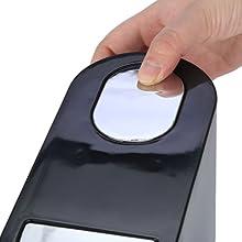 Residual Gas Exhaust Button