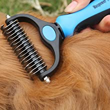 grooming pets hair with maxpower planet pet brush pet hair remover