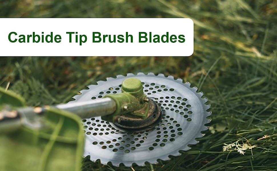 Carbide Tip Brush Blades