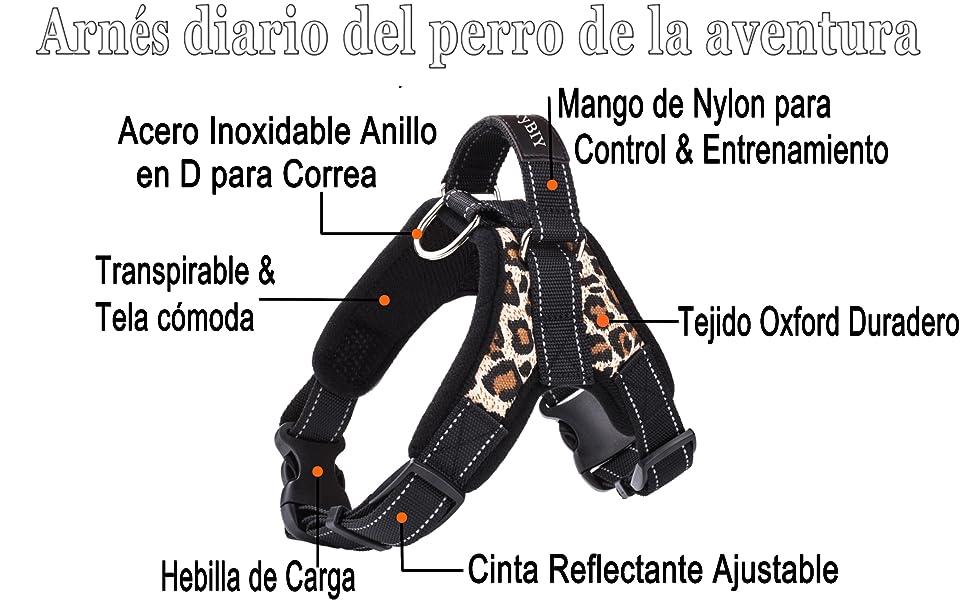 MerryBIY Arnés del Animal Doméstico Pet Harness Perro Collar ...