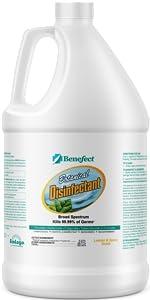 benefect broad spectrum natural botanical disinfectant cleaner