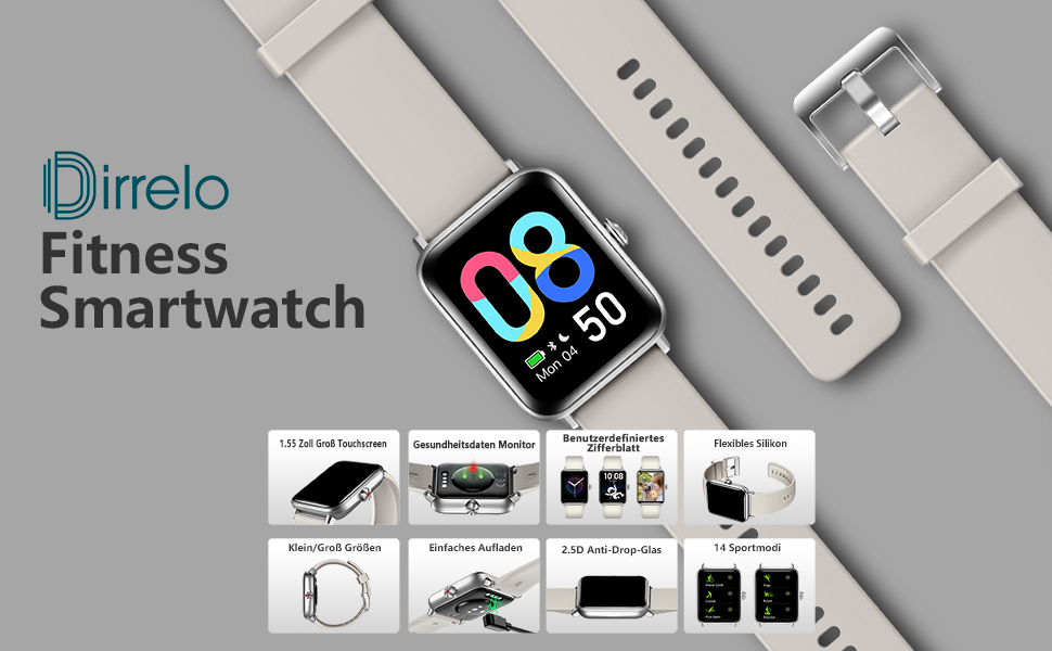 Blutsauerstoff smart watch
